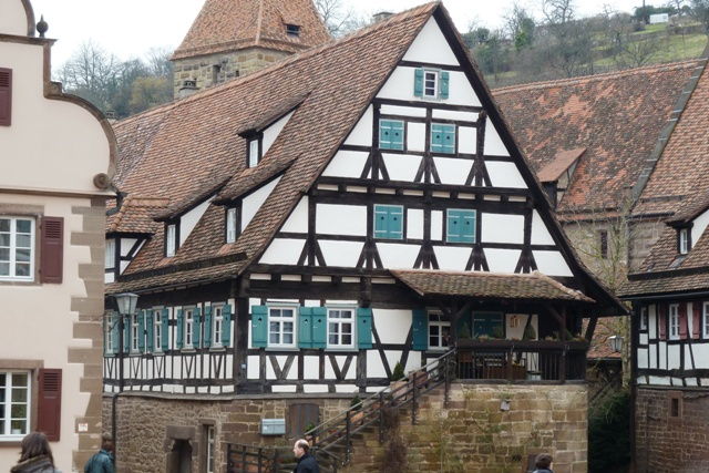 Half timber houses in Maulbronn, Germany