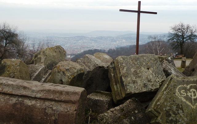 View of Stuttgart from the Birkenkopf, Germany