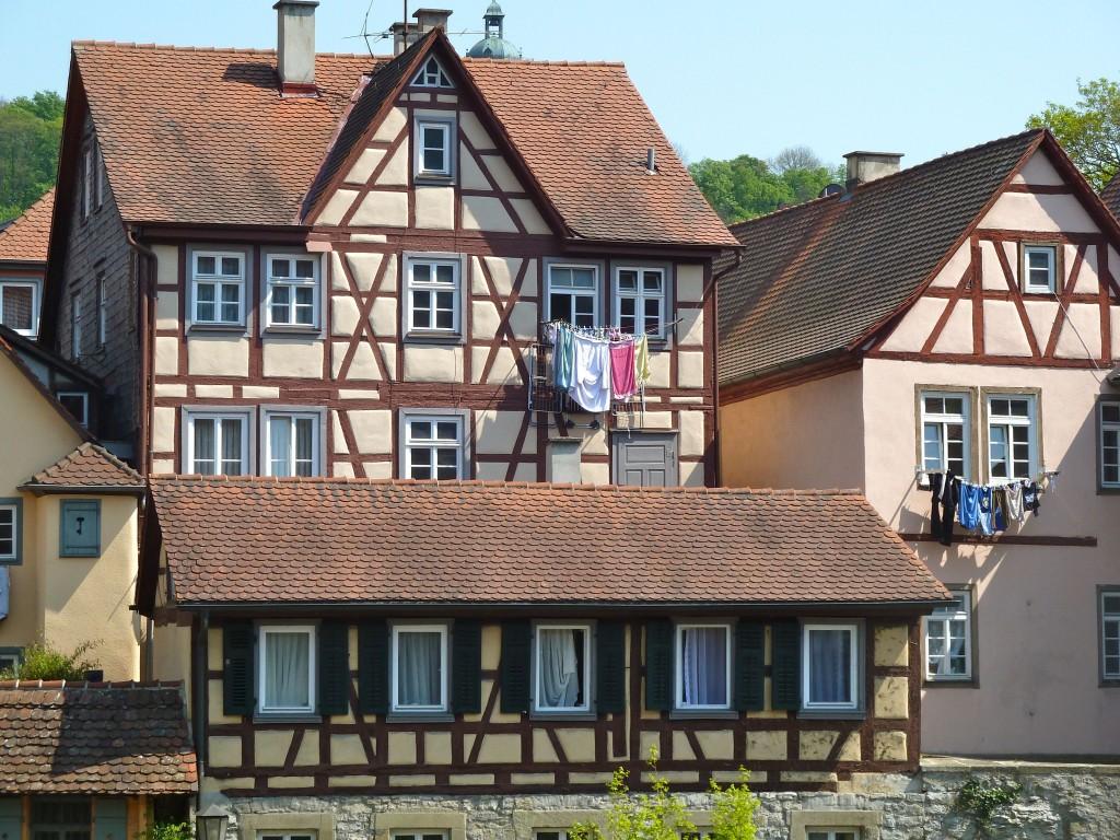 Half-timber houses