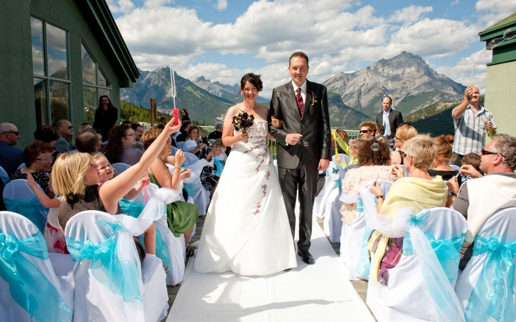 Our blend of Canadian and German wedding traditions in Canada
